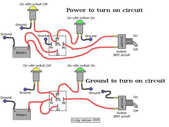 automotive relays and how they work rh sourceresearch com 12 Volt Relay Circuit Diagram Relay Circuit Symbol