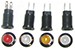4611A Series Relampable Indicator Lights photo