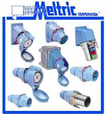 Meltric Industrial Plugs and Receptacles photo