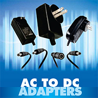 NTE Regulated AC to DC Adapterss