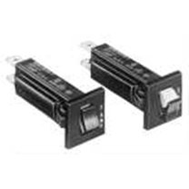 W28-XT1A-15 - Snap-in mounting, Push-to-reset Circuit Breaker Relay