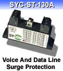 SYC-ST-130A - Voice And Data Line Surge Protection