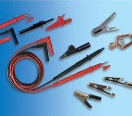 full line of NTE quality test leads, clips and accessories photo