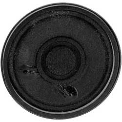 S250RA - 0.2 Watts Round Metal Frame Speaker, Alnico, 66 x 21 mm