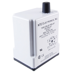 R28-11A10-120K - Time Delay Relay - 10AMP - A/C 120V - 0.1 to 10 sec Delays