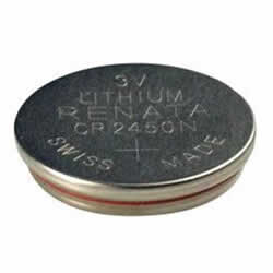 CR2450N - 3 Volts, 24.5 x 5.0 mm, 540 mAhLithium Coin Cell Battery